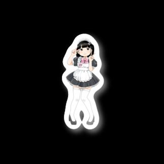 なご村🍙の萌え〜なメイドさん② Stickers