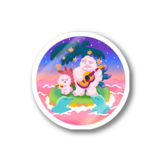 Chill Yeti&Dog Stickers
