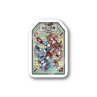 『招福猫(ショウフクビョウ)』 Stickers