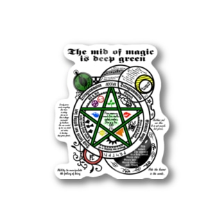 The mid magic Stickers