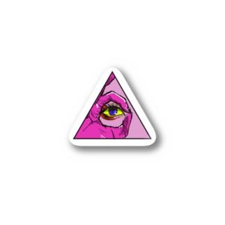 チラビデンスの目 Stickers