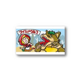ワイルドウルフ Stickers