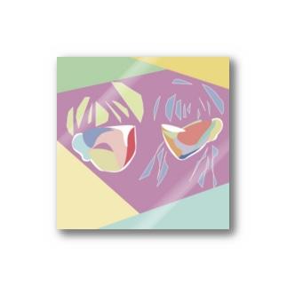 男と女 Stickers