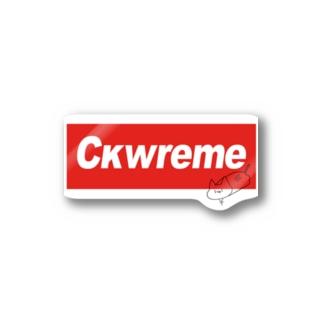 ckwreme Stickers