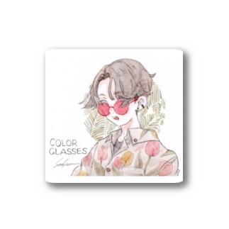 COLOR GLASSES🌷 Stickers