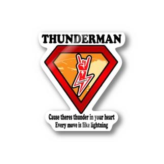 THUNDERMAN-01 Stickers