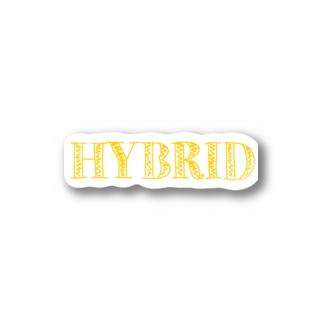 HYBRID系 Stickers