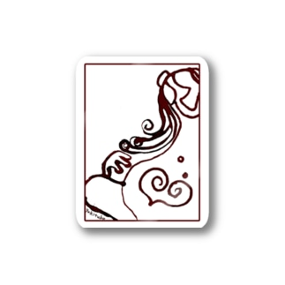 家族シリーズ「ニンプ」 Stickers