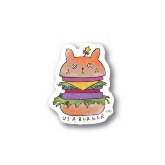 USABURGER Stickers
