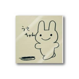 うさちゃんステッカー Stickers