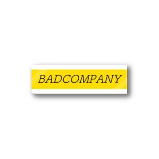 BADCOMPANY Stickers