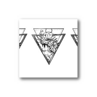 タトゥー風 花 Stickers