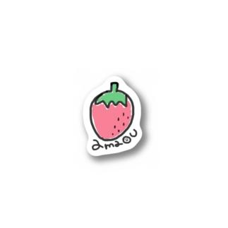 アマオウ Stickers