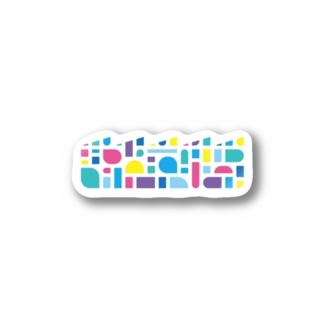 堀江織物50thアイテム Stickers