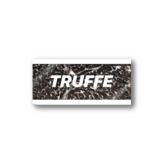 トリュフの断面 Stickers