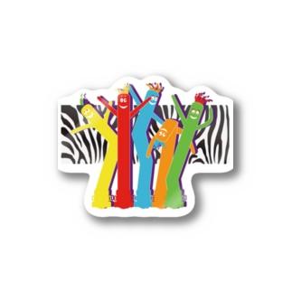 エアーダンサー Stickers