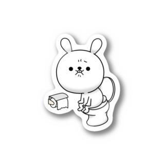 ひねくれうさぎ Stickers
