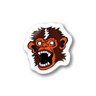 猿ステッカー ジェネシス Stickers