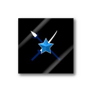 武器ロゴ/大(刀・槍) Stickers