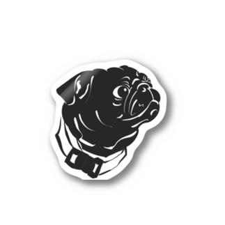 くんすかパグのステッカー Sticker
