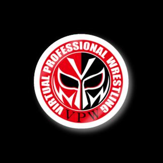 マスク・ド・ブイ@VPW バーチャルプロレスラーのVPWサークル Stickers