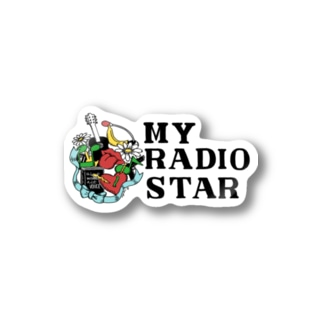 MY RADIO STAR ステッカー Stickers