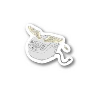 空飛ぶ炊飯器 Stickers