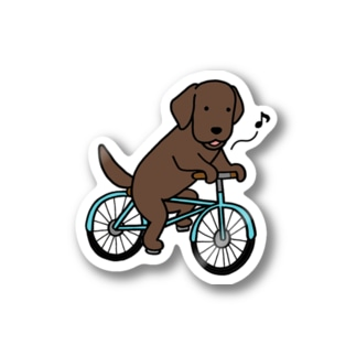 bicycleラブ チョコ Stickers