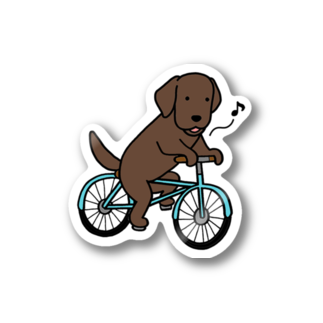 efrinmanのbicycleラブ チョコ Stickers