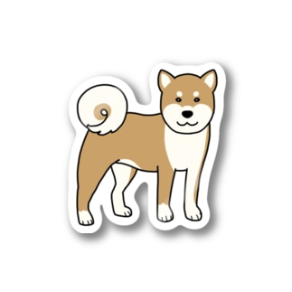 shiba 1 Stickers