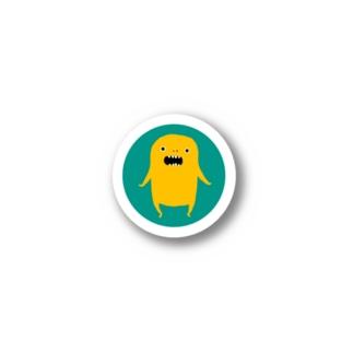 黄色モンスター Stickers
