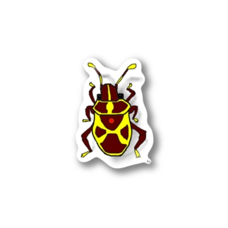 Harlequin Insect Stickers
