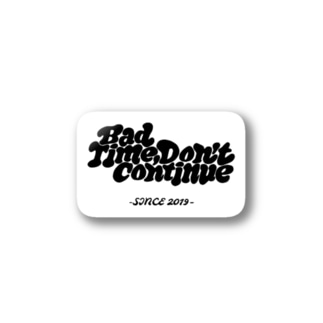 BTDC ステッカー White Stickers
