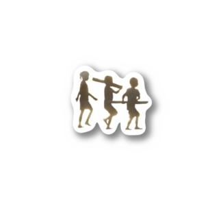 ろす・にーにょす Stickers