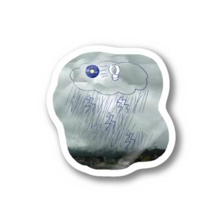 嵐とレコード Stickers