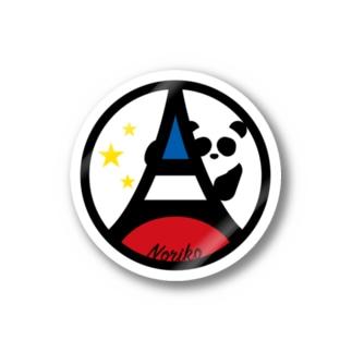 パ紋No.3377 Noriko Stickers