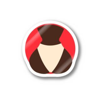 Summer Butt(ネオンレッド) Stickers