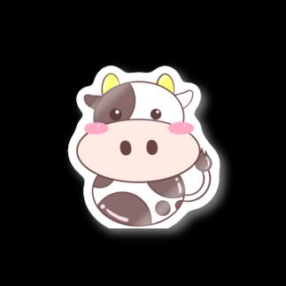 ミドリ ハナ@maro_coのまるいうしさん🐄 Stickers