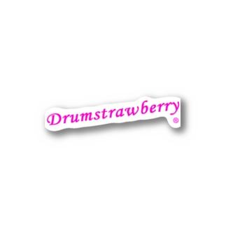 ドラムストロベリー《KW》 Stickers