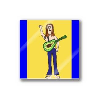 アボカドギター Stickers