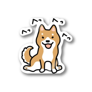 柴犬横座り Stickers