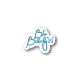 Blue Butterfly🦋 Stickers