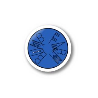 BUMP(青) Stickers
