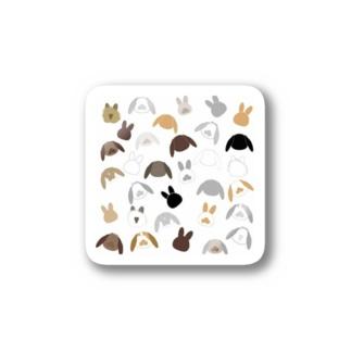 うさぎイラスト1 Stickers