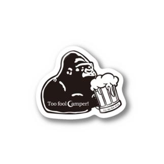 Too fool GORILLA Stickers