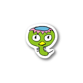 かっぱケムタン Stickers