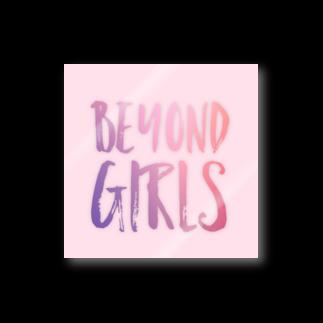 『ビヨンド ガールズ』 オリジナルグッズのBEYOND GIRLS Stickers