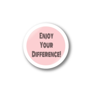 Enjoy Your Difference! Stickers