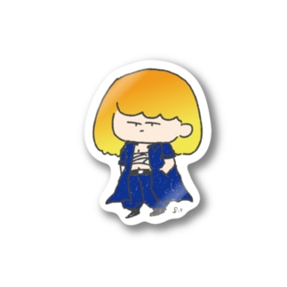 轟け!オミィちゃん Stickers