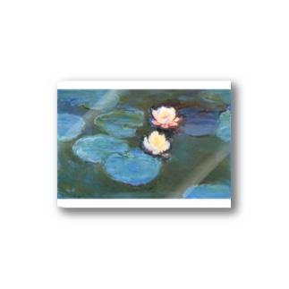 クロード・モネ / 睡蓮 / 1897/ Claude Monet / Water Lilly Stickers